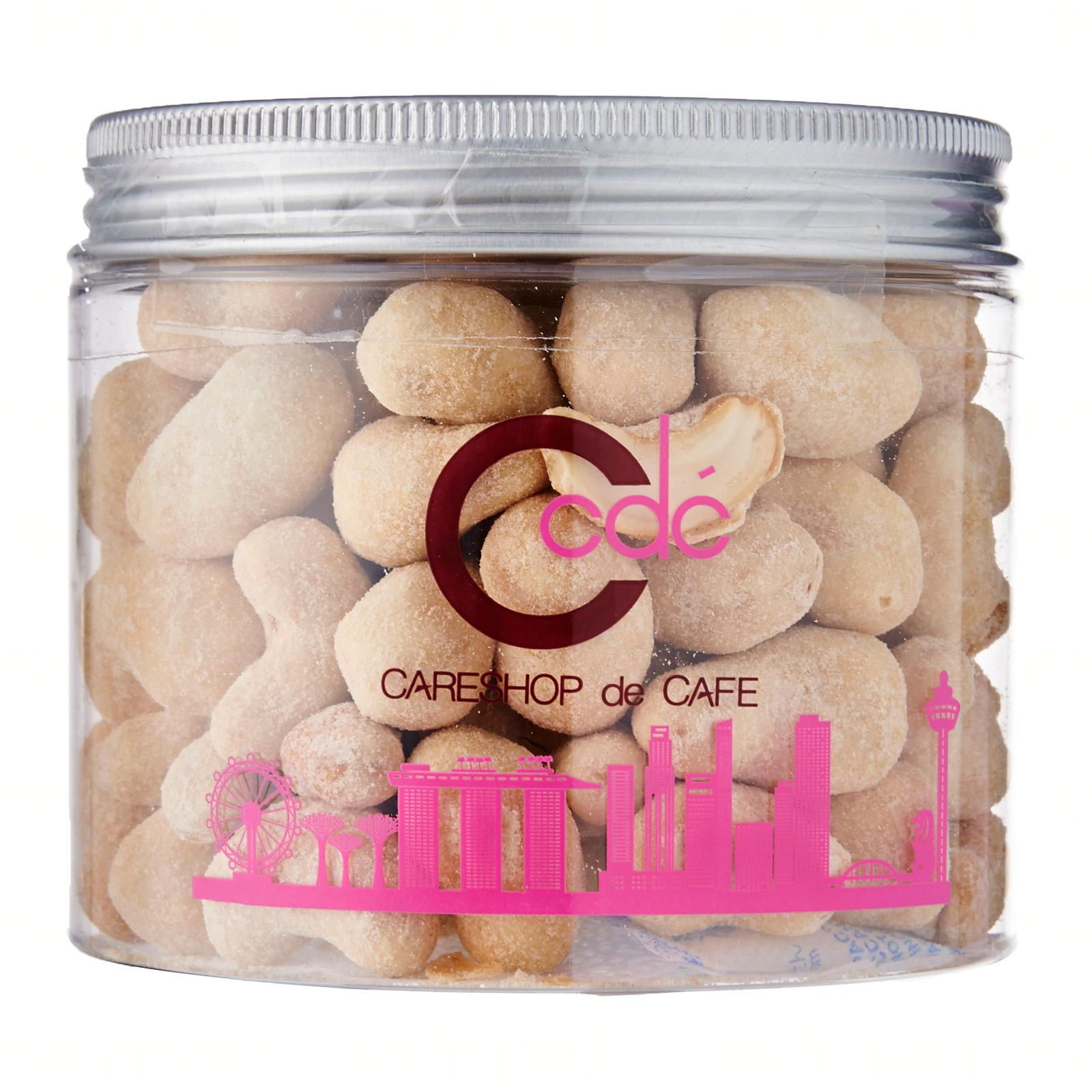CDC Sweet Corn Cashew Nuts-Burst of sweet corn flavour when you bite into the sweet corn cashew nuts. Highly recommended for sweet corn lover.